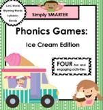 SMARTBOARD PHONICS GAMES:  Ice Cream Edition
