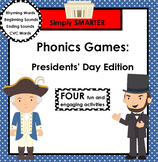 SMARTBOARD PHONICS GAMES:  Presidents' Day Edition