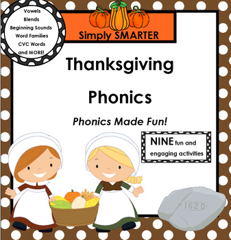 SMARTBOARD PHONICS:  Thanksgiving Edition