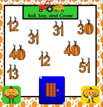 SMARTBOARD PLACE VALUE GAMES:  Pumpkin Edition
