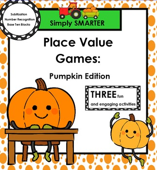 SMARTBOARD PLACE VALUE GAMES:  Pumpkin Edition