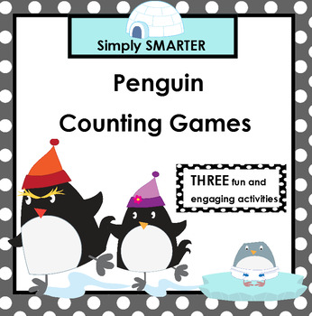 SMARTBOARD Penguin Counting Games