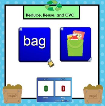 SMARTBOARD Phonics Games:  Earth Day Edition