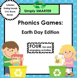 SMARTBOARD Earth Day Themed Phonics Games