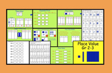 SMARTBOARD: Place Value Activities with Printable Worksheets