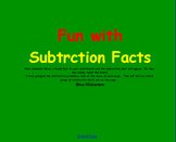 SMARTBOARD SUBTRACTION FACTS GAME