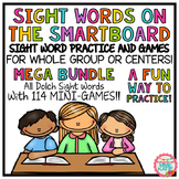 SMARTBOARD Sight Words and Interactive Mini-Games - Mega Bundle (Sets 1-19)