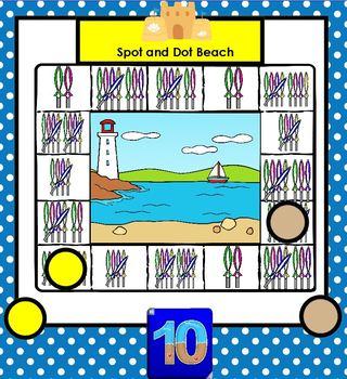 SMARTBOARD Tally Mark Games:  Beach Edition