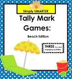 SMARTBOARD Tally Mark Games:  Beach Edition