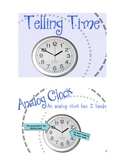 SMARTBOARD Telling Time activity