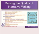 SMARTBOARD Writing Workshop: Raising the Quality of Narrative Writing