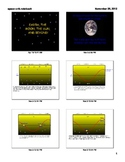 SMARTBOARD lesson on earth, the moon, and the solar system