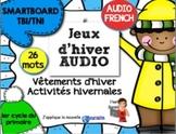 SMARTBOARD/AUDIO/Jeux d'hiver en Français