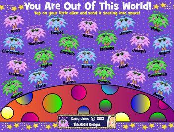 SMARTBoard Attendance - Alien Life!