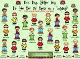 SMARTBoard Attendance - Ladybug Spots