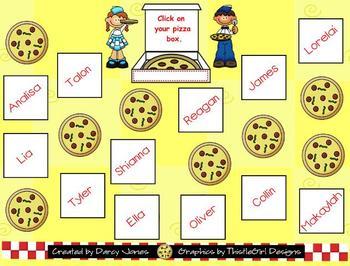 SMARTBoard Attendance - Pizza! Pizza!