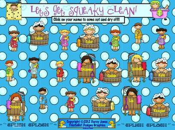 SMARTBoard Attendance - Squeaky Clean!