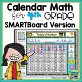 SMARTBoard Calendar Math for 4th Grade Full Year Version