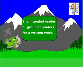 SMARTBoard: Fantasy Land Biographical Profile: Eng.: Common Core Vocab