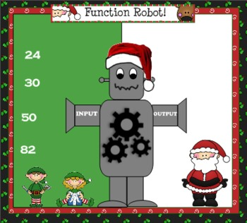 SMARTBoard Function Machine Robots: Christmas Theme