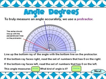Geometry SMARTBoard File: Lines and Angles