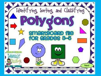 Geometry SMARTBoard File: Polygons