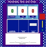SMARTBoard Interactive Place Value-Base Ten, Standard, Expanded, and Word Forms