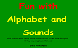 SMARTBoard Letter and Sound Game