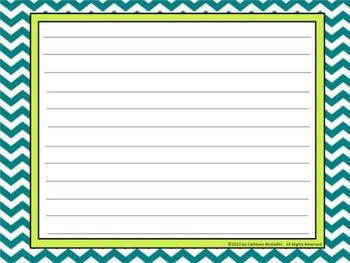 "SMARTBoard Morning Message Templates Set 5: ""It's All About the Chevron!"""