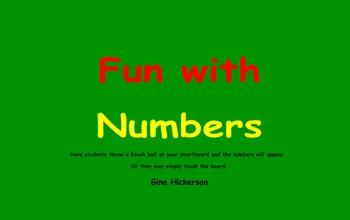 SMARTBoard Number Game