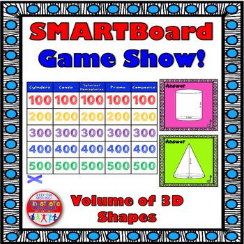 SMARTBoard Game Show: Volume of 3D Shapes