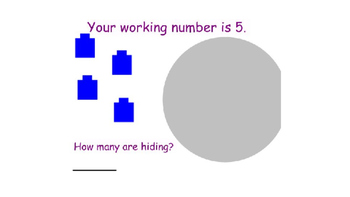 SMARTBoard Self Checking Math Station Missing Number Task for Numbers 3-12