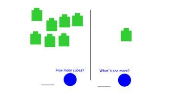 SMARTBoard Self Checking Math Station One More Task 1-11 R