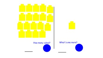 SMARTBoard Self Checking Math Station One More Task 12-22