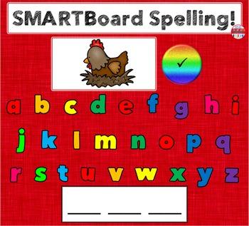 SMARTBoard Lesson - Spelling CVC Words