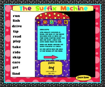 SMARTBoard Suffix Machine