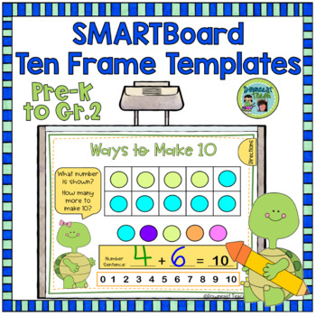 Smartboard ten frame templates and printables by downeast teach tpt smartboard ten frame templates and printables maxwellsz