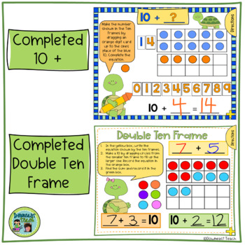 SMARTBoard Ten Frame Templates and Printables