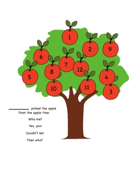 SMARTBoard  Who Picked the Apple from the Apple Tree
