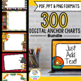 SMARTBoard and PowerPoint Background Templates {BUNDLE}