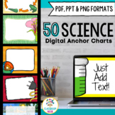 Science Themed Digital Anchor Chart Templates