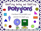 Geometry SMARTBoard and Printables Bundle: Polygons