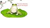 SMARTBoard attendance - dancing frogs