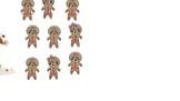 SMARTBoard attendance - gingerbread people