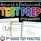 Math Test Prep 3rd Grade - Printable Practice for SBAC & PARCC