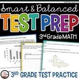 Math Test Prep 3rd Grade - Printable Practice for SBAC & PARCC