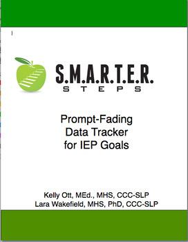 SMARTER Prompt Fading Data Tracker & Graph