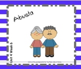 SMARTboard Abuela Reading Street Unit 4 Week 6