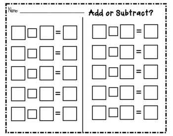 SMARTboard Add or Subtract Number Line Practice