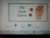 SMARTboard Addition Cave Game Unit sums from 4-10